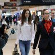 Pippa Middleton et son mari James Matthews arrivent à l'aéroport de Sydney, le 31 mai 2017.