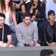 Shy'm soutenait son compagnon Benoît Paire à Roland-Garros le 4 juin 2017 lors de son match de double mixte avec Chloé Paquet, perdu 3-6, 2-6. © Dominique Jacovides-Cyril Moreau/Bestimage