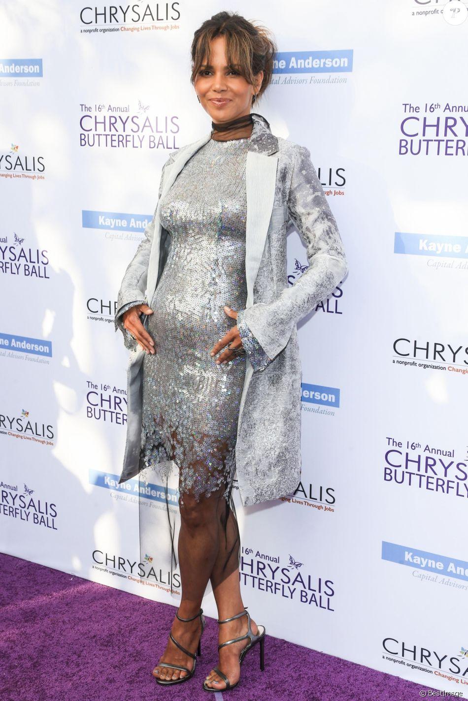 """Halle Berry lors de la soirée """"Chrysalis Butterfly Ball"""" à Los Angeles le 3 juin 2017."""