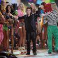Justin Bieber au défilé Victoria's Secret 2012 à New York. Novembre 2012.