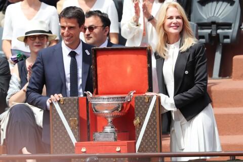 Nicole Kidman à Roland-Garros : Radieuse pour la finale Wawrinka - Nadal