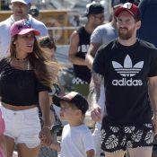 Lionel Messi en vacances avec sa pulpeuse Antonella, torride en bikini