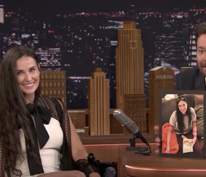 """Demi Moore s'est """"limé"""" des dents : Elle en révèle l'horrible raison..."""