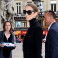 Semi Exclusif - Céline Dion et son styliste Law Roach à l'Opéra Garnier à Paris, le 13 juin 2017.