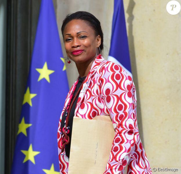 Laura Flessel - Arrivées au conseil de défense et au conseil des ministres au palais de l'Elysée à Paris. Le 7 juin 2017 © Giancarlo Gorassini / Bestimage