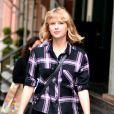 Taylor Swift quitte son appartement de Tribeca à New York City, New York, Etats-Unis, le 28 septembre 2016.