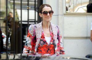 Céline Dion : Look coloré à la veille du début de sa tournée estivale