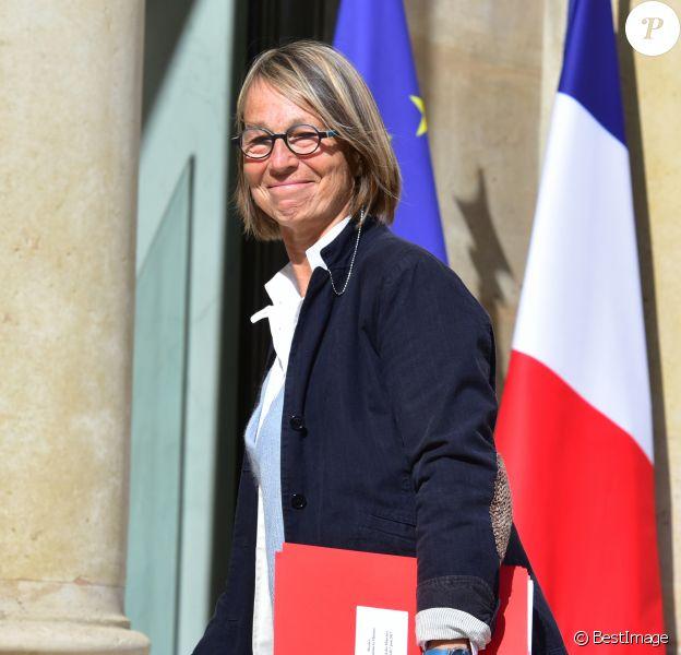 Françoise Nyssen - Arrivées au conseil de défense et au conseil des ministres au palais de l'Elysée à Paris. Le 7 juin 2017 © Giancarlo Gorassini / Bestimage