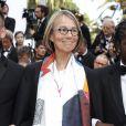 Françoise Nyssen, ministre de la Culture et guest - Montée des marches du film de la Soirée 70ème Anniversaire lors du 70ème Festival International du Film de Cannes. Le 23 mai 2017. © Borde-Jacovides-Moreau/Bestimage