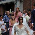 Mariage de Matteo Darmian et Francesca Cormanni à Rescaldina, Italie, le 14 juin 2017.