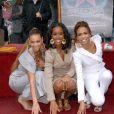 Les Destiny's Child recoivent leur étoile sur Hollywood Boulevard en mars 2006