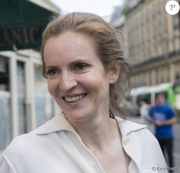 Nathalie Kosciusko-Morizet (NKM) candidate aux élections legislatives dans la 2ème circonscription de Paris, le 6 juin 2017. © Romuald Meigneux/Bestimage