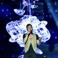 """Exclusif - Claudio Capéo pendant l'émission """"La chanson de l'année fête la musique"""" dans les arènes de Nîmes, diffusée en direct sur TF1 le 17 juin 2017. © Bruno Bebert/Bestimage"""