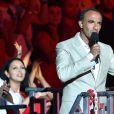 """Exclusif - Prix spécial - Nikos Aliagas anime l'émission """"La chanson de l'année fête la musique"""" dans les arènes de Nîmes, diffusée en direct sur TF1 le 17 juin 2017. © Bruno Bebert/Bestimage"""