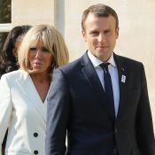 Emmanuel et Brigitte Macron réunis à l'Élysée, le couple célèbre le foot féminin