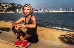 Sylvie Tellier, fière de sa famille recomposée :