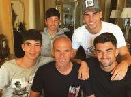 Zinedine Zidane : Ses quatre charmants fils exhibent leurs torses très musclés