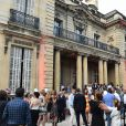 Exclusif - Ambiance - B. Patou fête ses 40ans à l'hôtel particulier Salomon de Rothschild à Paris, France, le 22 juin 2017. © Rachid Bellak/Bestimage
