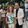 Exclusif - Cyrielle Claire et son mari Michel Corbière - B. Patou fête ses 40ans à l'hôtel particulier Salomon de Rothschild à Paris, France, le 22 juin 2017. © Rachid Bellak/Bestimage