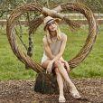 Rosie Huntington-Whiteley, ambassadrice internationale de UGG, pose pour la campagne de la marque australienne. Le 23 août 2016.