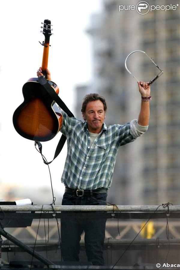 Bruce Springsteen son concert en france déchaine les fans