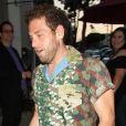 Jonah Hill, affiné, arrive au restaurant Craig à West Hollywood le 24 juin 2017.