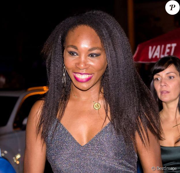 """Venus Williams - Soirée du magazine Ocean Drive dans le cadre du """"Art Basel"""" à la """"Roche Bobois Warehouse"""" à Miami, le 29 novembre 2016. © CPA/Bestimage"""