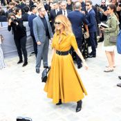 Fashion Week : Céline Dion, beauté solaire au défilé Dior