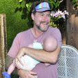 Tori Spelling fête le 9e anniversaire de sa fille Stella, sur le thème licorne, à Los Angeles, le 1er juillet 2017