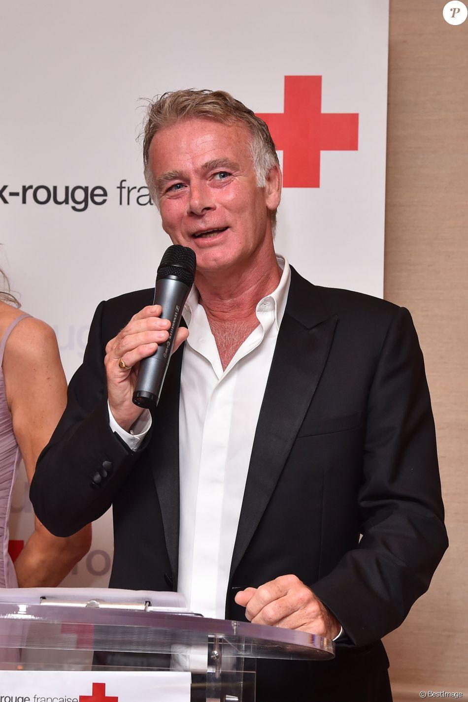 Franck Dubosc, le comédien et humoriste français, durant le 5ème gala annuel de l'unité d'Antibes Juan les Pins, Vallauris, Golfe Juan, de la Croix Rouge française dans le cadre du prestigieux hôtel Eden Roc au Cap d'Antibes, le 10 juin 2017.