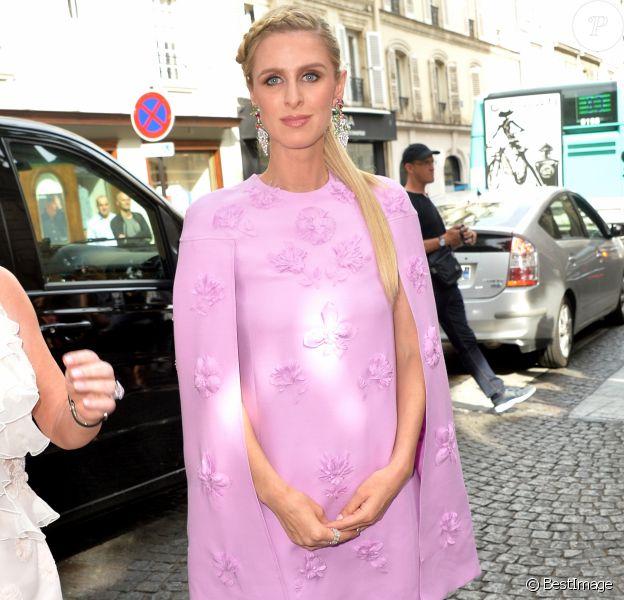 Nicky Hilton Rothschild - Arrivées au défilé de mode «Valentino», collection Haute-Couture automne-hiver 2017/2018, à Paris. Le 5 juillet 2017 © CVS - Veeren / Bestimage
