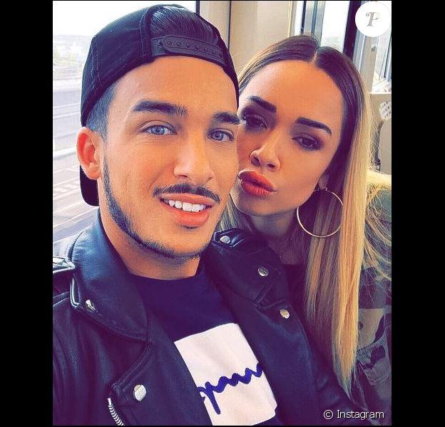 Laurent, le chéri de Jazz, a annoncé sur Snapchat la grossesse de la candidate de télé-réalité.