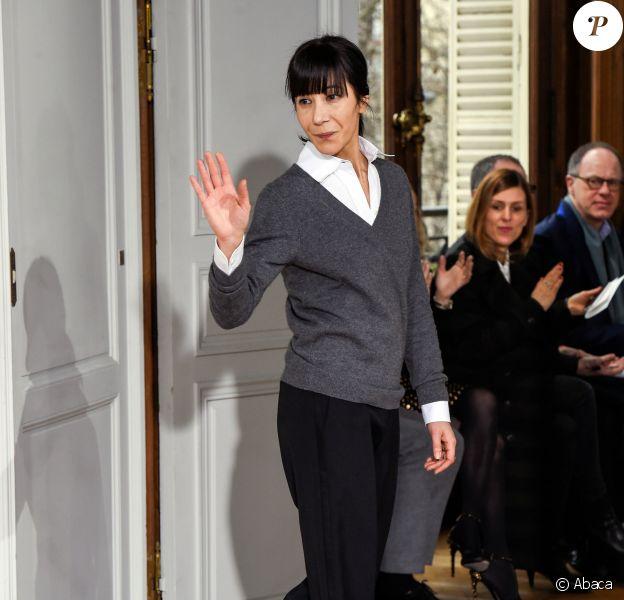 Bouchra Jarrar - Défilé Bouchra Jarrar, collection Haute Couture printemps-été 2015 à Paris. Janvier 2015.