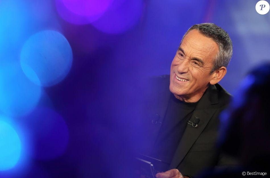 """Enregistrement de l'émission """"Salut les Terriens"""" de Thierry Ardisson avec Marc-Olivier Fogiel. Le 5 février 2015"""