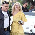 Tori Spelling en plein tournage de West Beverly High