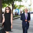 Robert Shapiro (avocat de Rob Kardashian) arrive au tribunal du quartier de downtown à Los Angeles, le 10 juillet 2017