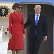 Donald et Melania Trump : Arrivée sans éclat à Paris, pour une visite chargée