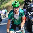 Team Europcar's Thomas Voeckler rides the final climb of the day the Col de Vizavonna in the Corsican mountains during the Tour de France Stage 2, Bastia to Ajaccio in Corsica, France on June 30, 2013. Photo by Pete Goding/PA Photos/ABACAPRESS.COM01/07/2013 - Corsica