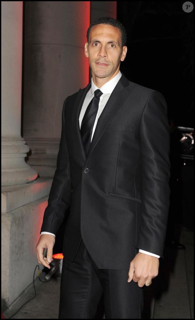 Rio Ferdinand à Londres en décembre 2009.