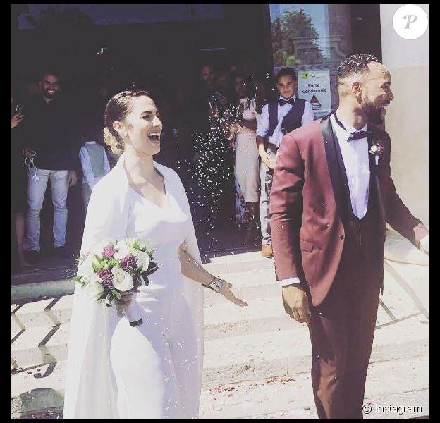 Charlotte Namura et son chéri Jean-Luc Guizonne (Star Academy 5) se sont mariés.