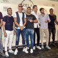 Cristiano Ronaldo assiste à l'inauguration du restaurant Zela à Ibiza le 17 juillet 2017.