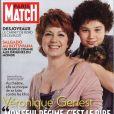 Véronique Genest en couverture de Paris Match