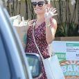 Exclusif - Lea Michele à Brentwood, le 10 juillet 2017