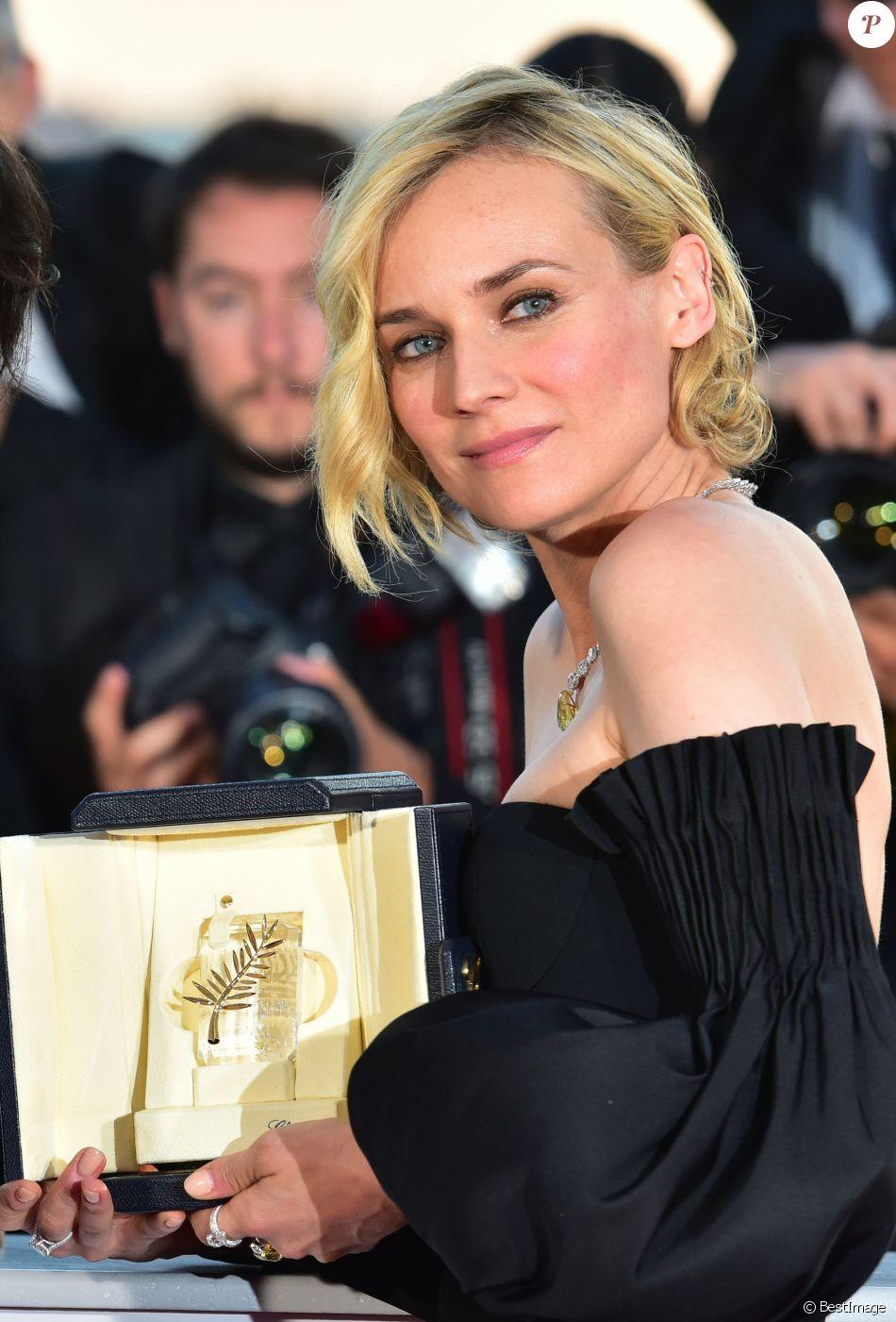 Diane Kruger (Prix d'Interprétation féminine pour le film « In The Fade ») - Photocall de la remise des palmes du 70ème Festival International du Film de Cannes. Le 28 mai 2017. © Giancarlo Gorassini/Bestimage