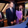 Le prince William et Kate Middleton en visite au musée Maritime à Hambourg, le 21 juillet 2017.