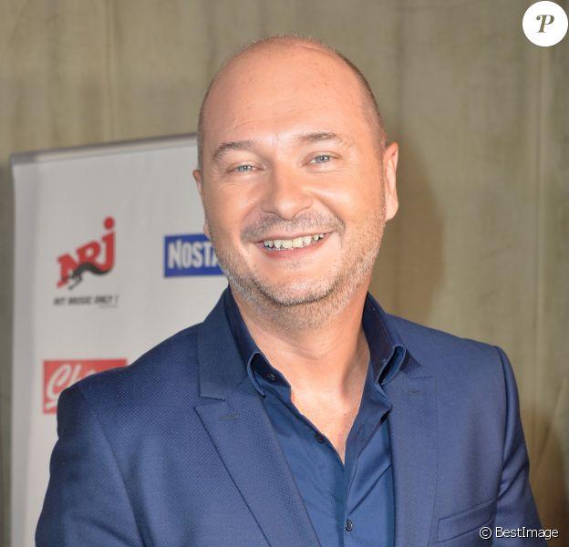 Sébastien Cauet - Conférence de rentrée du groupe NRJ au Musée du Quai Branly à Paris le 14 septembre 2016.