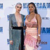 "Rihanna à Paris : Divine et voluptueuse pour ""Valérian"" avec Cara Delevingne"