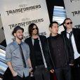 Linkin Park à l'avant-première de Transformers: Revenge of the Fallen en 2009 à Los Angeles.