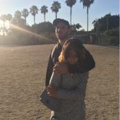 Jérémy Chatelain, en Californie avec sa fille Annily, dévoile un tendre cliché