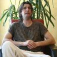 Jérôme Golmard (41 ans) se confie à L'Equipe sur sa maladie. A Dijon, avril 2014.